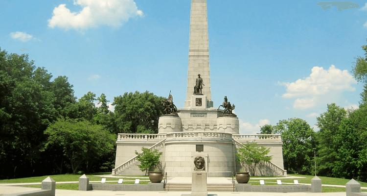 Mausoléu de Abraham Lincoln – Estados Unidos - Mausoléus