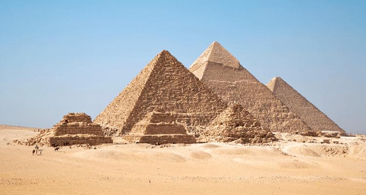 Pirâmides – Egito - Mausoléus