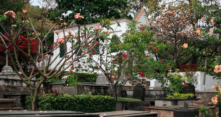 Cemitério mais antigo do Brasil